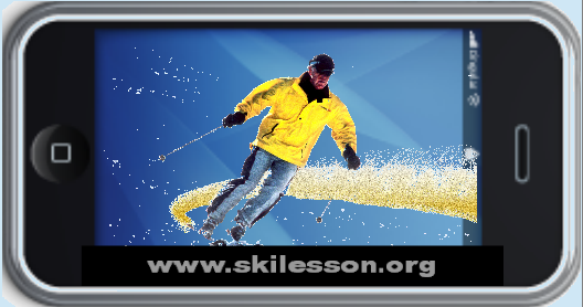 Fairy Dust Blue Ski Lesson